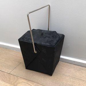 Handbags - Black Asian Take Out Purse